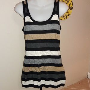 Women's sz M Express thin sweater tank